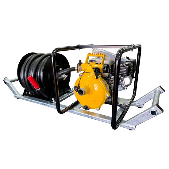 Fire Skid FC-DSK Fire Pump and Hose Reel