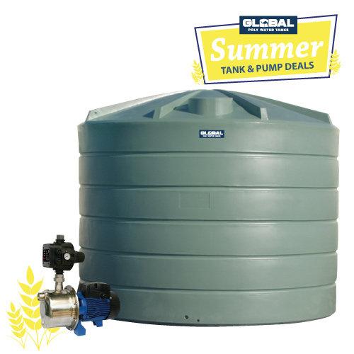 22,700L Poly Tank (5,000 gal.) & Pump Package