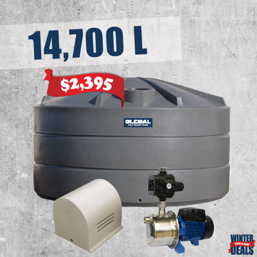 14,700L Tank + Pump Package