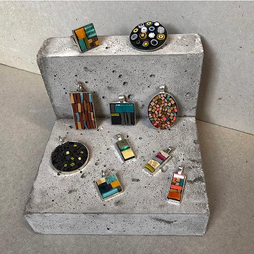 Mosaic Jewellery with Joanna Kessel