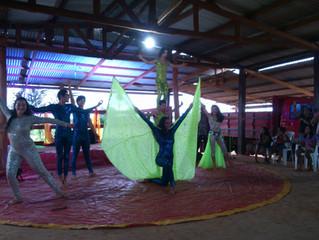 Circo Grock apresenta em Tribo Indígena