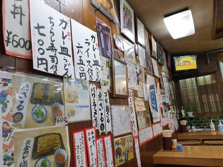 中崎町のレトロな大衆食堂【力餅食堂】
