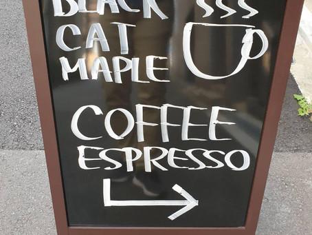 中崎町の穴場カフェ【Black Cat Maple】☕︎