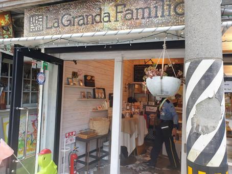 中崎町で美味しく健康食🌽【ラ・グランダ・ファミリオ】