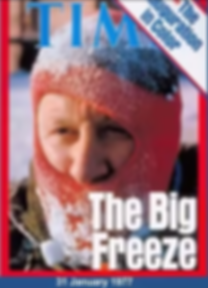 Warnings of the coming ice age vis a vis global cooling of the 1970s