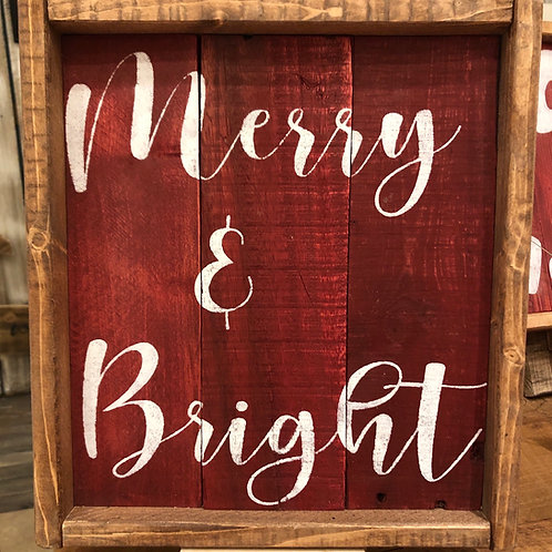 """Merry And Bright"""