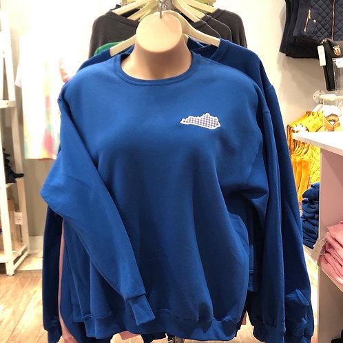 """""""Kentucky"""" Embroidered Sweatshirt"""