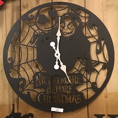"""Nightmare Before Christmas"" Clock"