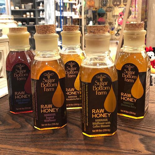Sugar Bottom Farm Raw Honey - 8 ounce bottle