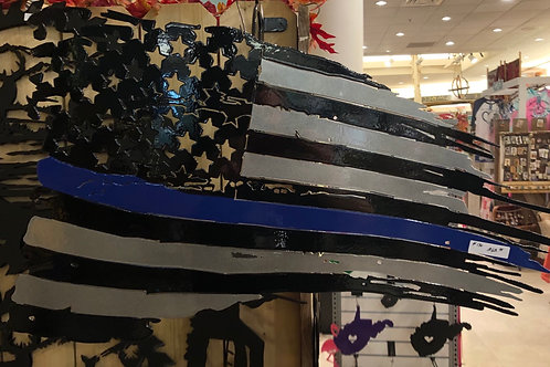 """Thin Blue Line"" Flag"