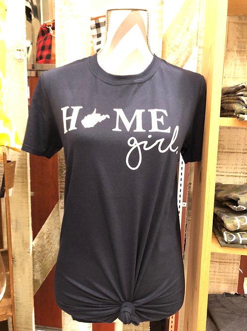 """""""WV Home Girl"""" T-Shirt"""