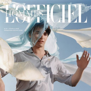 L'officiel Italia Cover