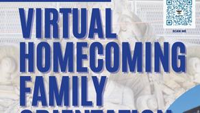 Virtual Homecoming Family Orientation Flier (En español)