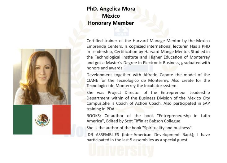 Dra Angelica Mora