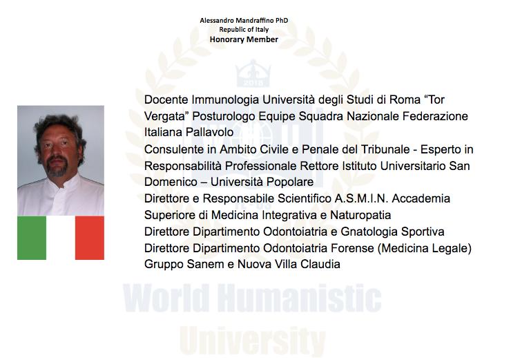 Dr. Alessandro Mandraffino
