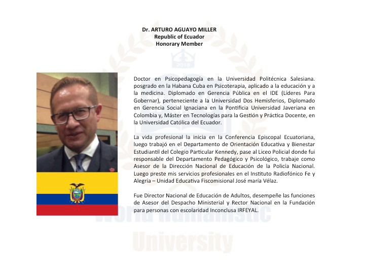 DR. ARTURO AGUAYO
