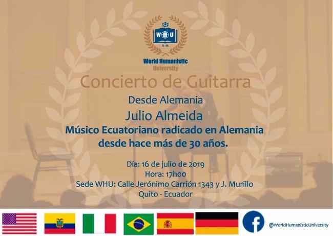 CONCIERTO JULIO ALMEIDA
