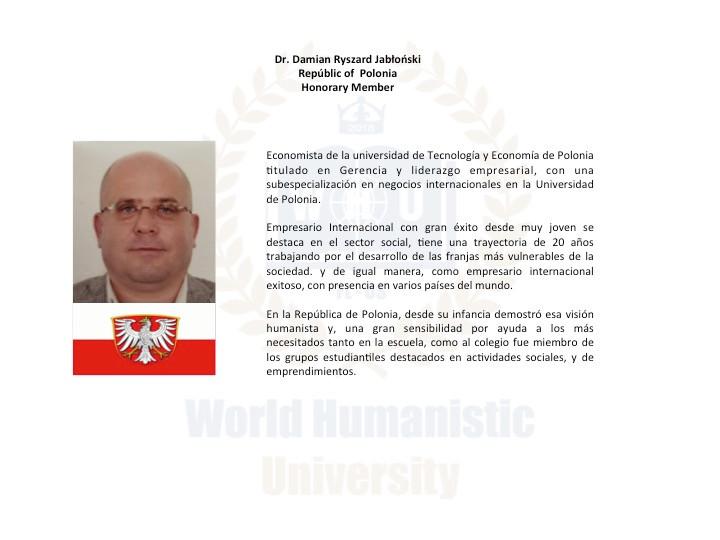 DR. DAMIAN RYSZARD