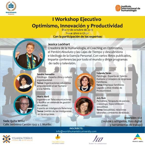I Workshop Ejecutivo Optimismo, Innovaci