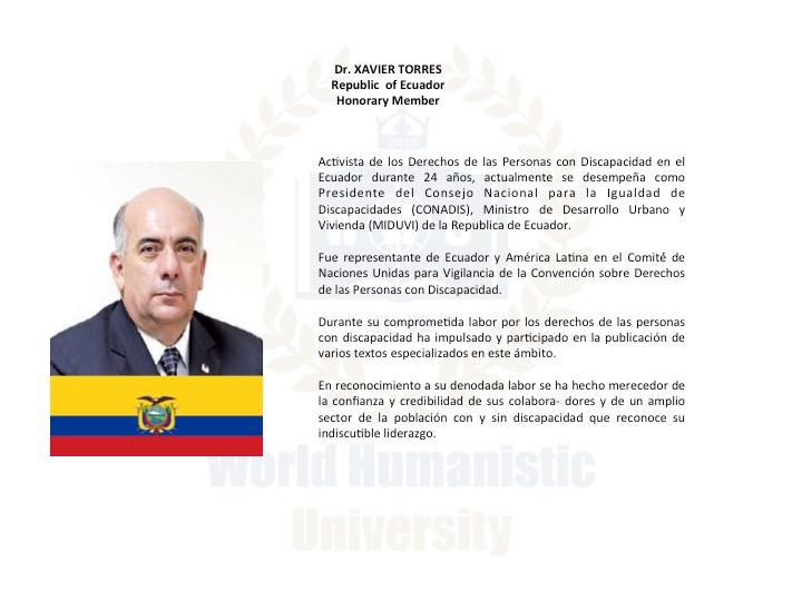 DR. XAVIER TORRES