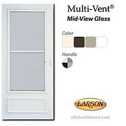 Larson Storm Doors Installed Westchester NY