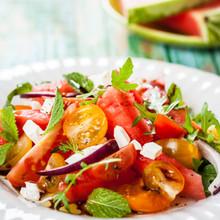 Ensalada de tomate fresco