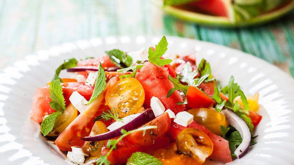 Fine Beans and Semi Dried Tomato Salad