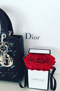 Kleine Flowerbox mit konservierter Rose