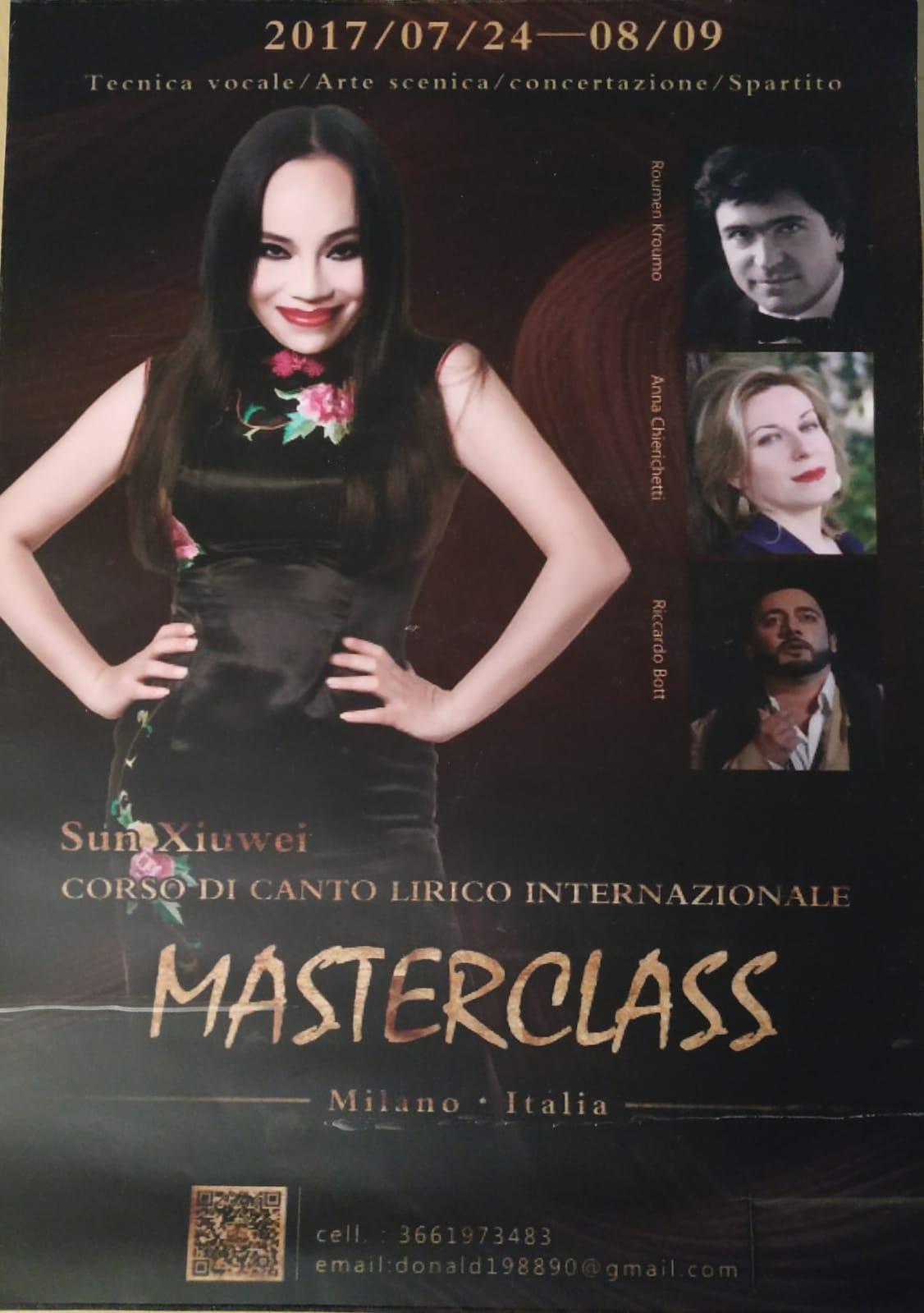 Masterclass Cina