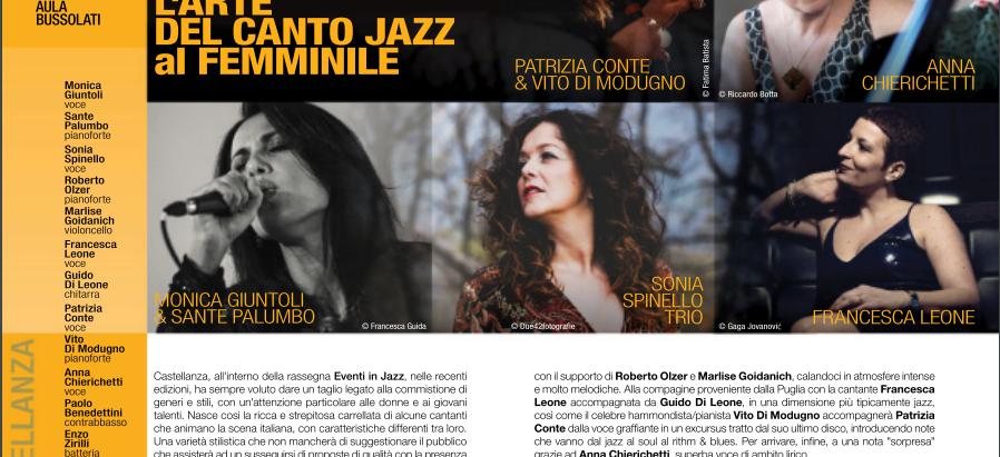 Sonia Spinello a Eventi in Jazz 2019