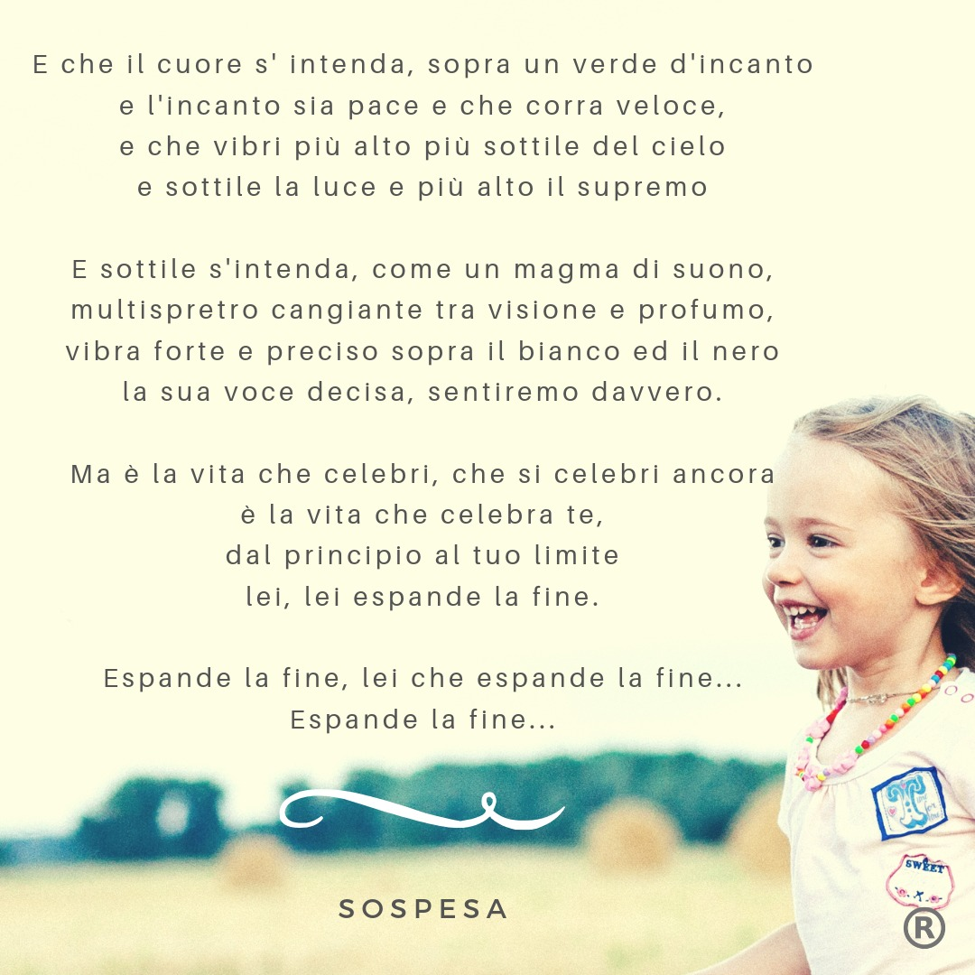 Sottile - SOSPESA