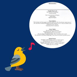 Il recital di canto - costruire un programma (2)