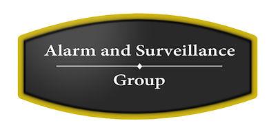 ASG round logo golder rim lit background