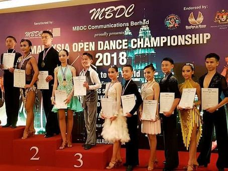 Congratulations to Choo Yi Xuan on winning Malaysia Open Dance Championship 2018.Proud of you and th