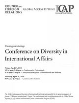 Conference on Diversity in International