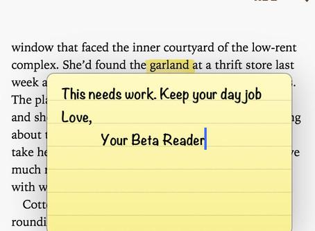 13 Lucky Beta Readers