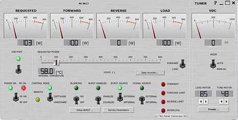 RF Generator GUI Software