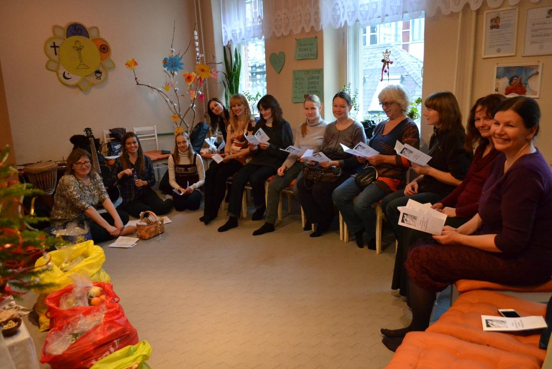 Rehearsal in Satja Sai Centre of Riga