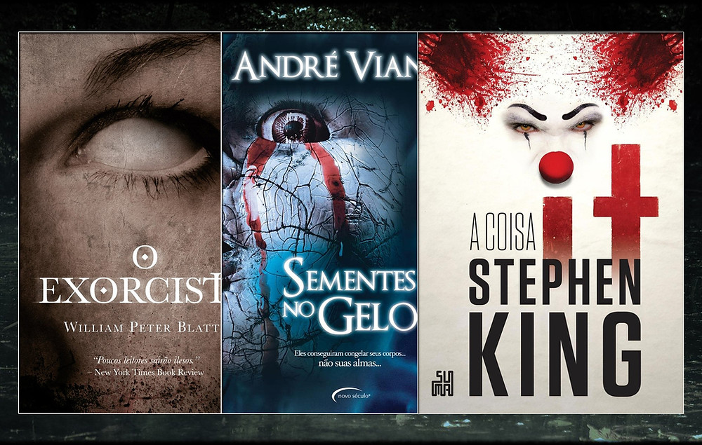 13 livros que todo amante de terror deve ler