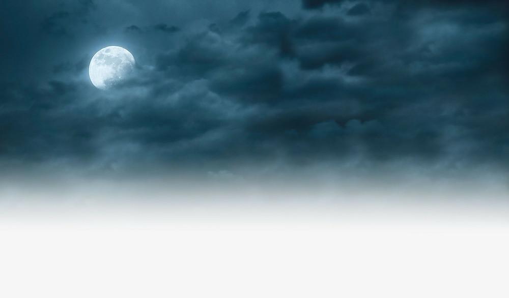 conto literário O chamado à meia-noite, da escritora Raquel Cantarelli