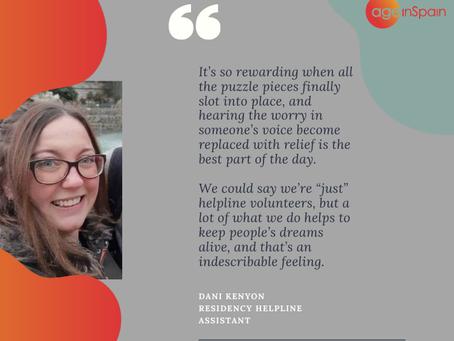 Volunteering with Age in Spain: My Day as a Residency Helpline Assistant