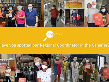 Have you spotted our Regional Coordinator for the Canaries?