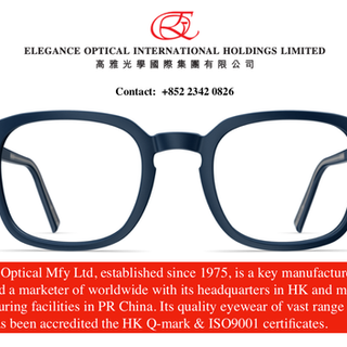 Elegance Optical International Holdings Ltd