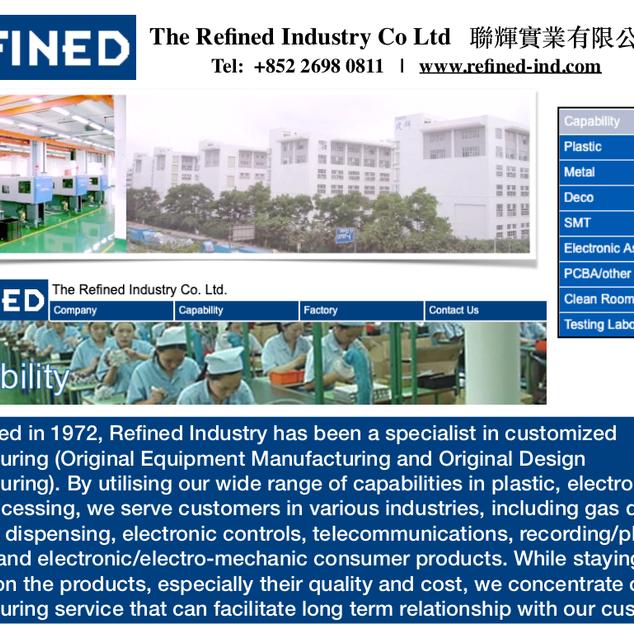 Refined Industry Co Ltd
