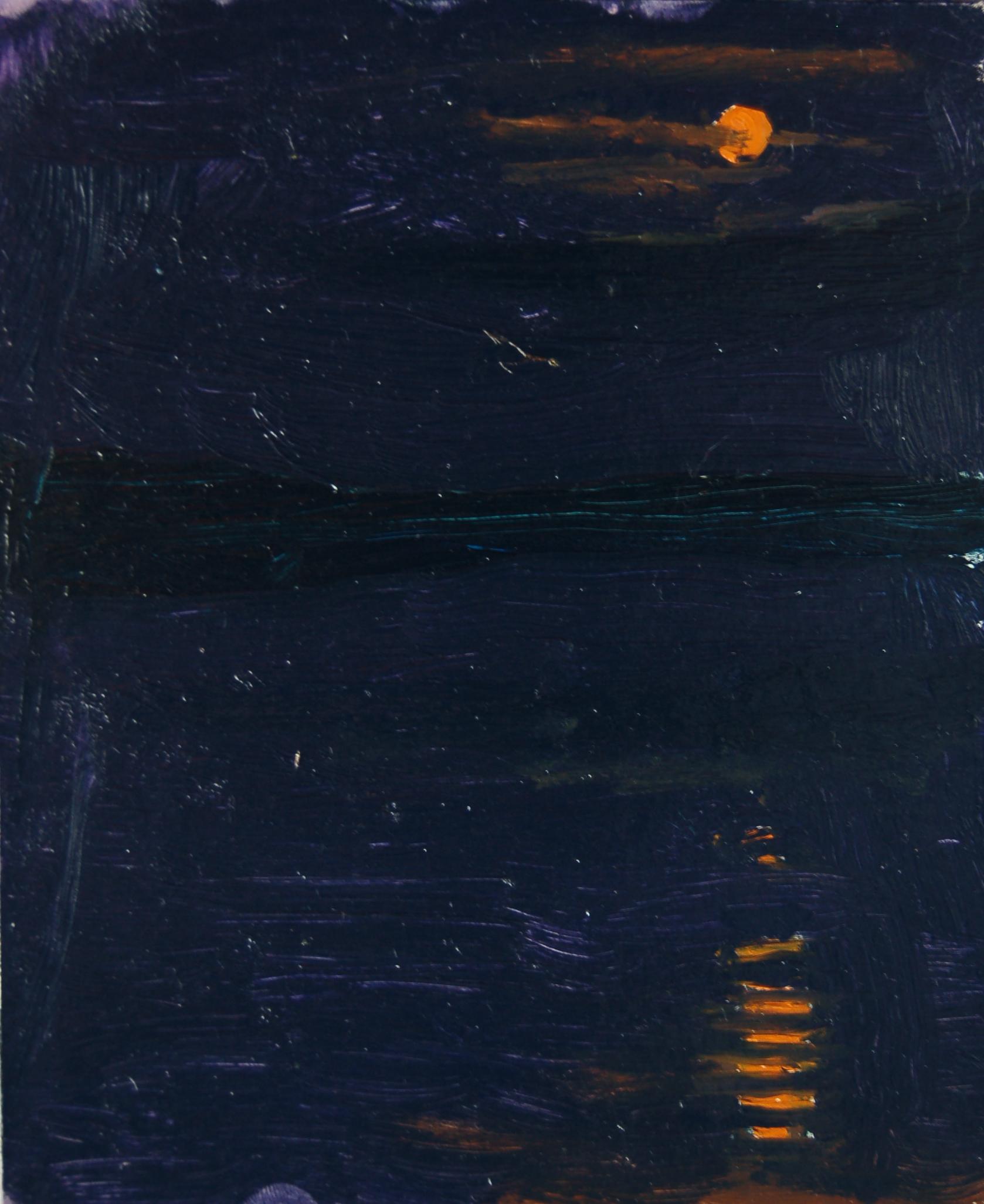 Ночь на озере