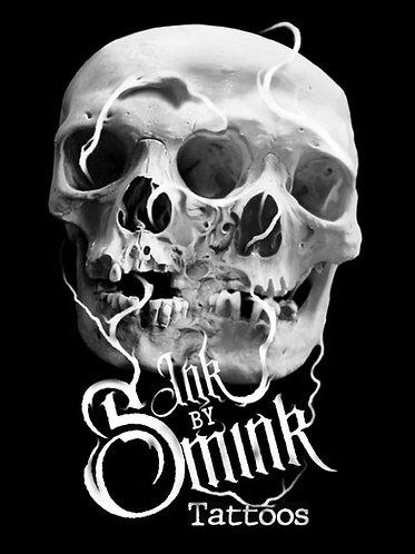 InkbySmink Skull Sticker