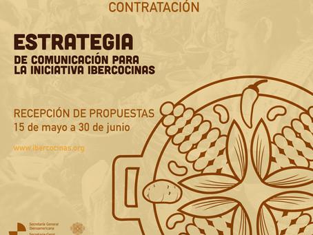 Participe de las convocatorias IberCocinas 2020