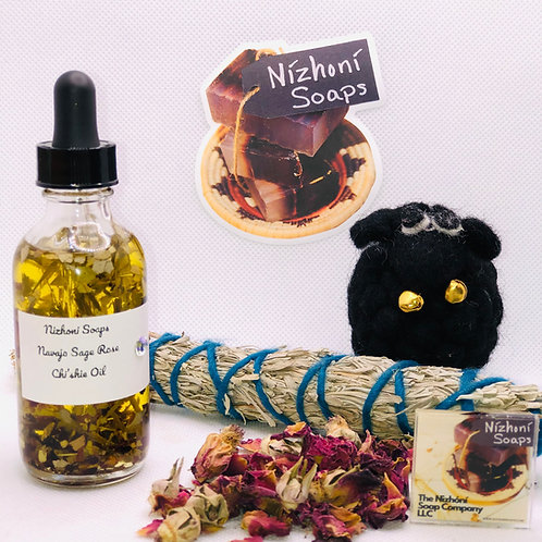 Navajo Sage and Wild Rose Chi'shie Oil w/Eucalyptus