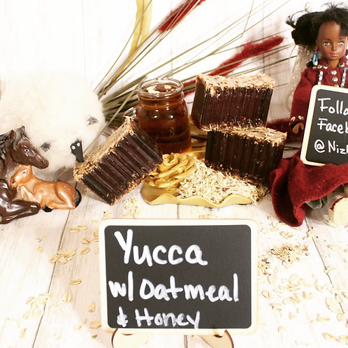 Yucca Root with Oatmeal and Honey Soap