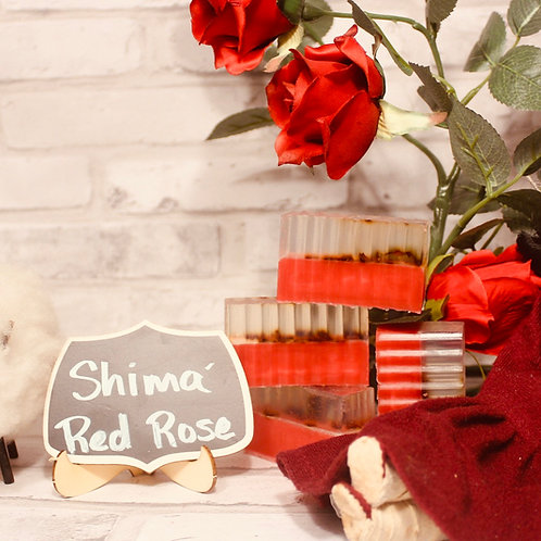 Shima Red Rose Soap